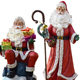 China Factory Promotion large father christmas figures