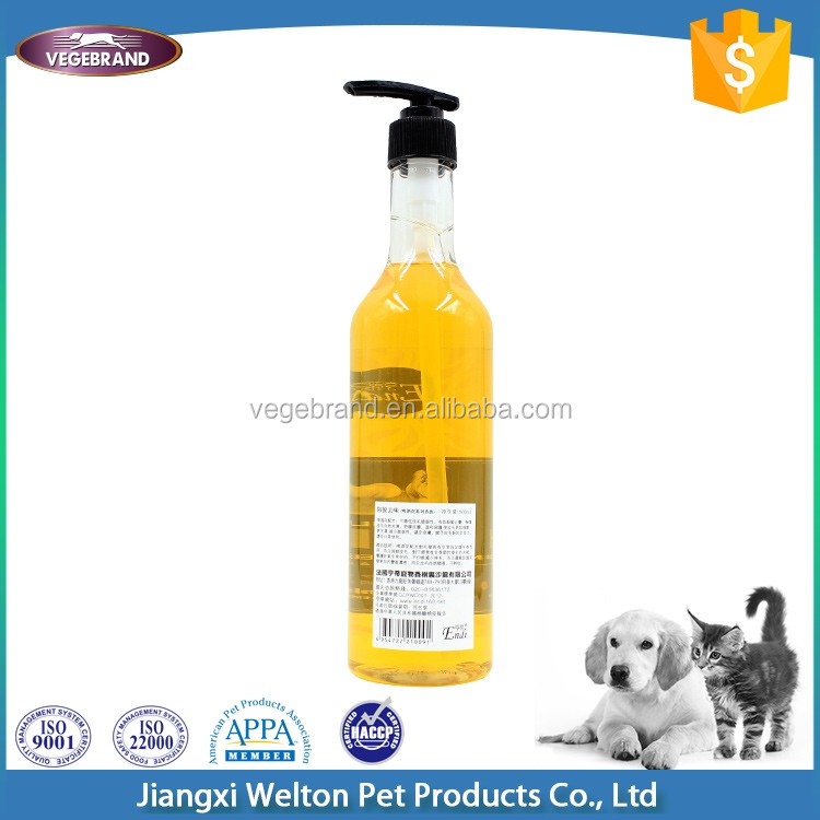 Wholesale New Product Pet Gold Supply Pet Shampoo