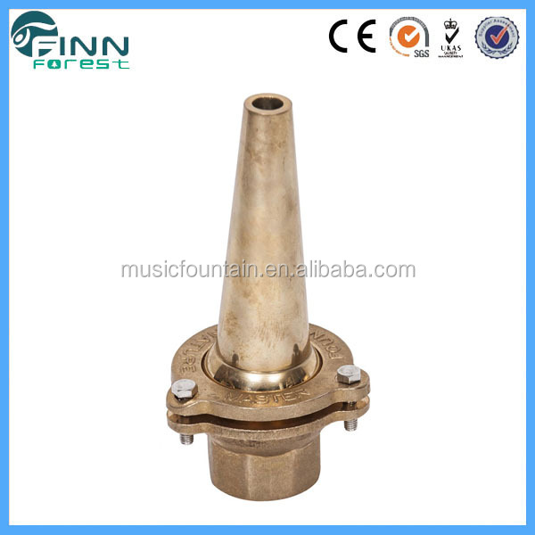 wholesale price water spray decorative adjustable brass fountain head