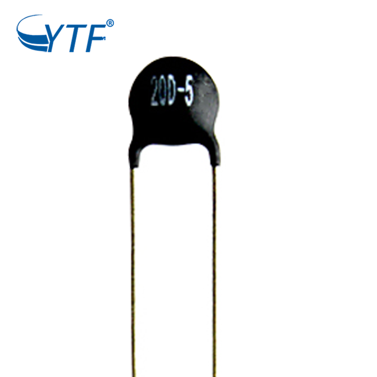 NTC 20D-5 thermistor with <strong>resistance</strong> tolerance 20% in stock