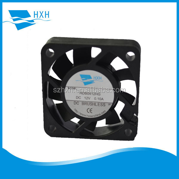 "5 VDC 12 VDC 24 VDC Hypro Dc Cooling Fan with 12"" Leads 40 X 40 X 10 Mm"