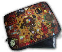 Full color priinting laptop case, Two sides printing laptop sleeve