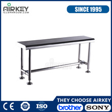 Fabricated Cleanroom Furniture Stainless Steel Table