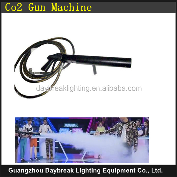 DJ CO2 GUN handhold co2 jet machine with hose , Stage effect No Electric connection Easy directly Hand Control dj gun