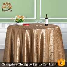 OEM new style 100%Polyester jacquard tablecloth