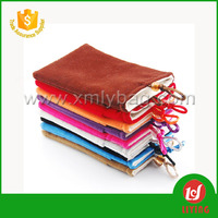 Colorful Drawstring Custom Gifts Bags Promotional Bags Velvet Pouches