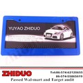 Wholesale Blue Plastic License Plate Frame