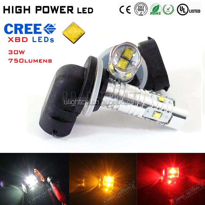 High quality fog light with CREES XBD chip 750lm H27 881 led fog bulb good lighting effect 24 month warranty