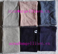 high quality popular stone washed linen/cotton tea towels for wholesale plain