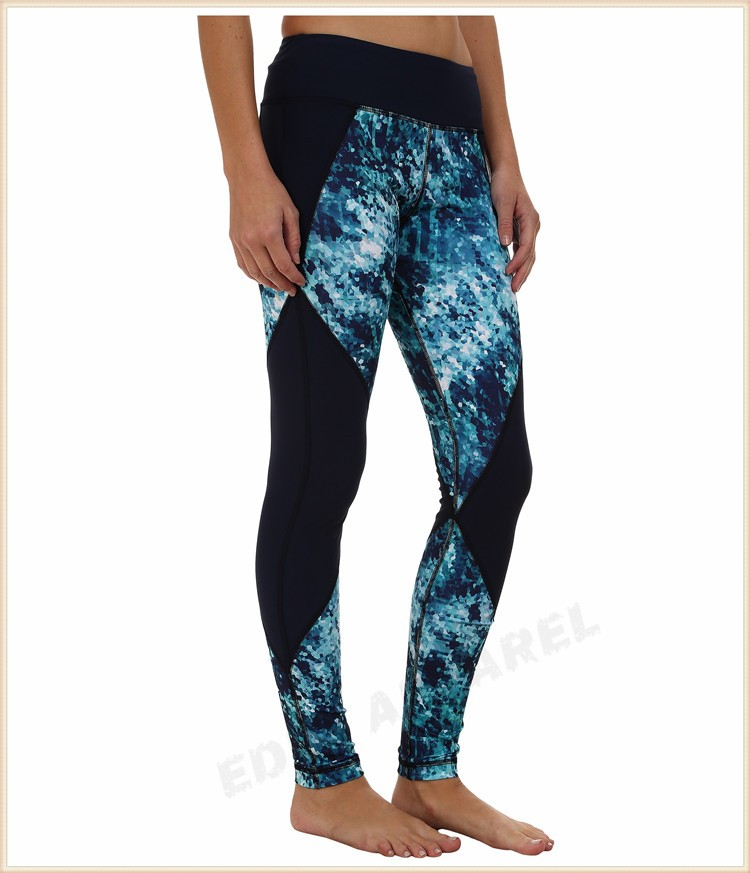 Sublimation Printing Fitness Legging/ Wholesale Yoga Pants ...