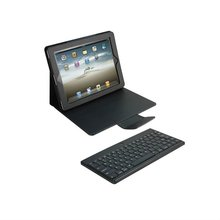 Detachable Bluetooth Keyboard Leather Case for The New Ipad