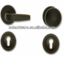 brass door handle lock/lever handle/interior handle