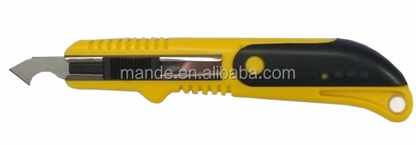 new product high quality snap-off cutter knife/ stanley knife / plastic cutter