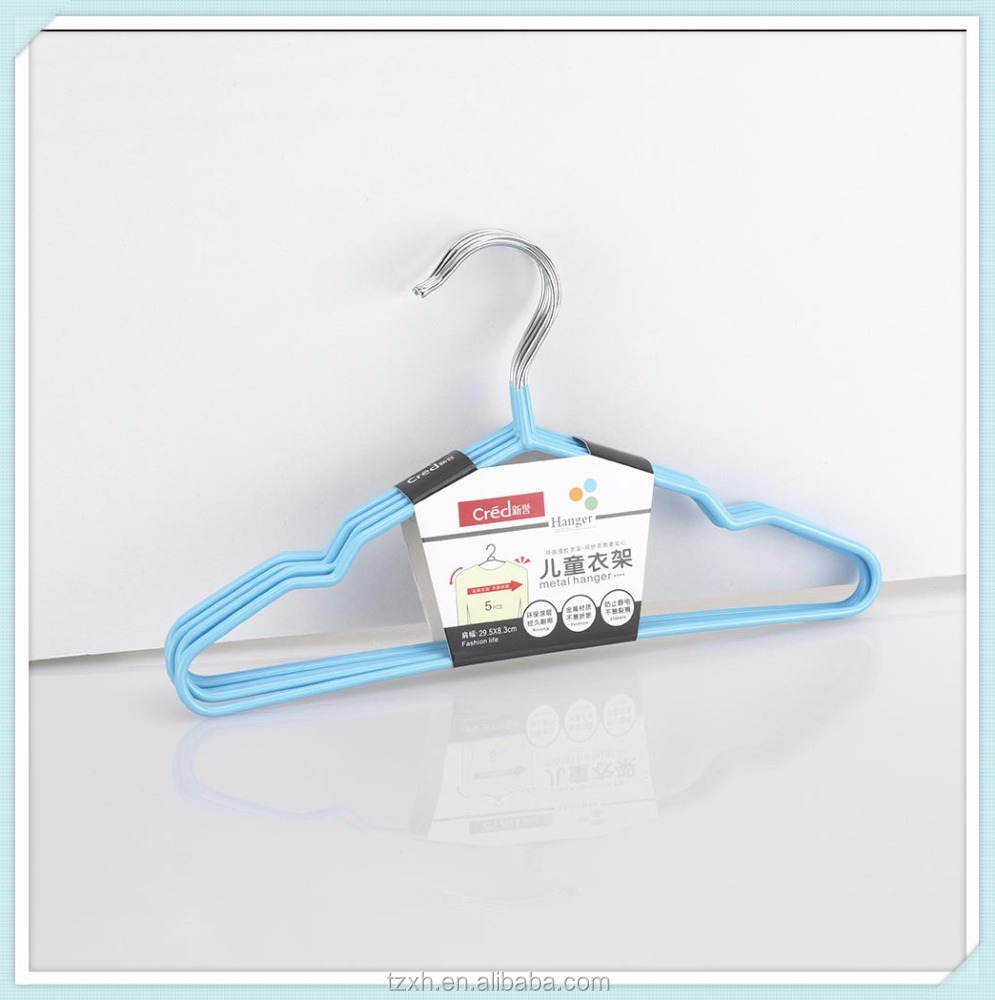 cheap price PVC coated wire metal clothes hanger