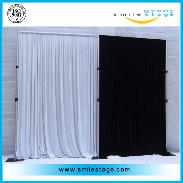 telescopic crossbar, wedding pipe and drape kits