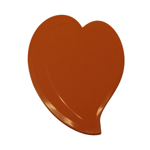 NewTide Heat Resistant Insulation Heart Shape Silicone Cup Coaster