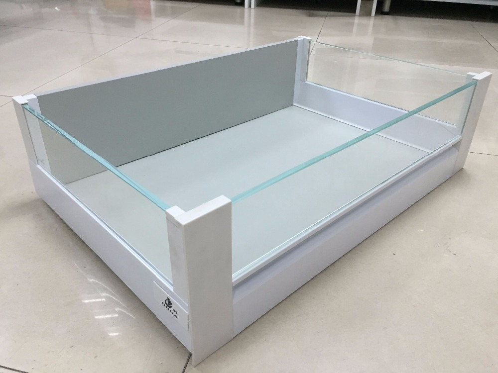 High quality kitchen soft close steel drawer