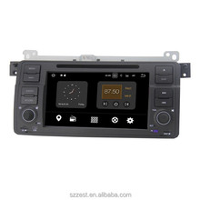 1din Android 7.1 Car DVD Radio GPS Navigation For BMW E46 1998~2005 WIFI 3G