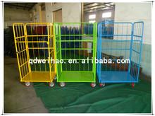 RC-03 powder coated folding storage roll cages