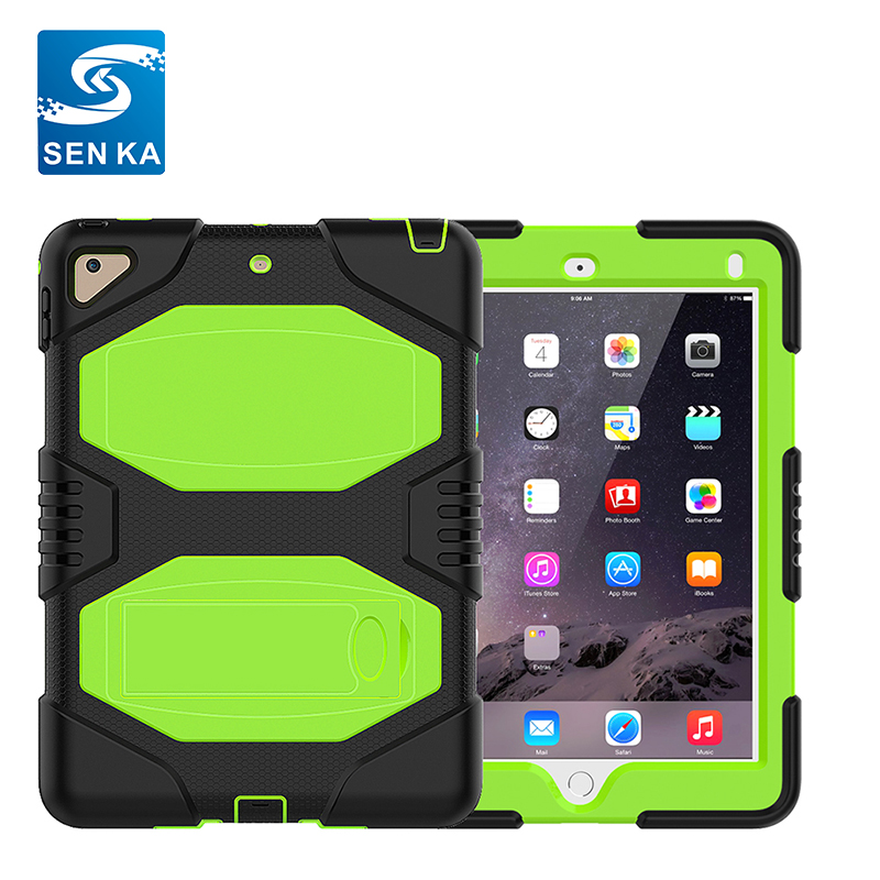 Case for iPad Mini,Hybrid Shockproof Silicone Stand Case for iPad Mini 1 2 3
