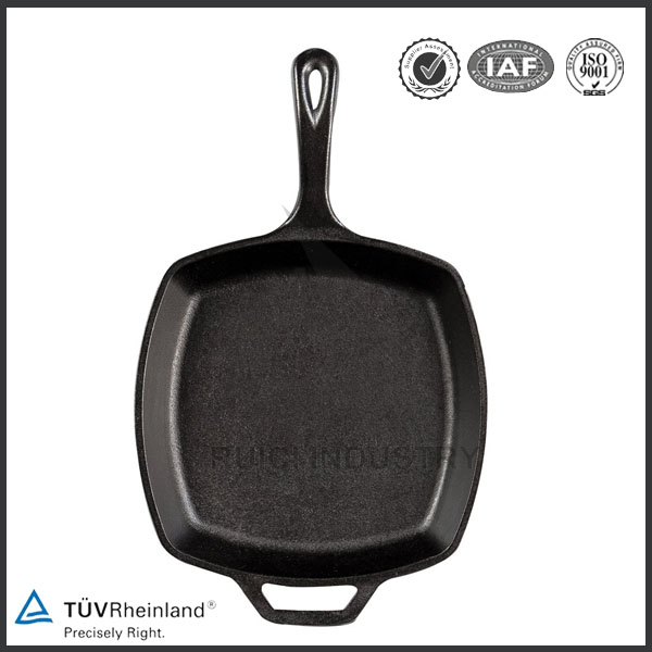 China manufacturer quality casting iron kitchenware