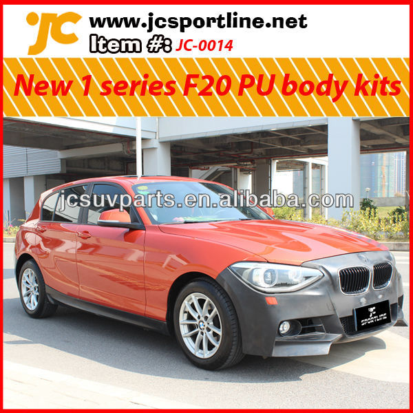 For BMW new 1 series F20 hatchback PU body kit/ car body bumper parts