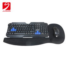 New custom design silicone rubber keyboard gel wrist rest mouse mat for promotions