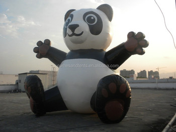 2015 Advertising Giant inflatable panda balloon F1008