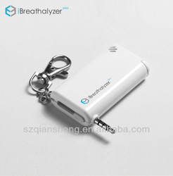 Portable mini digital breath alcohol tester with keychain