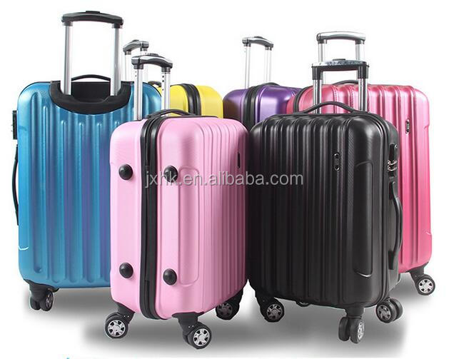 factory custom 3PCS luggage set colourful sky travel trolley suitcase bags