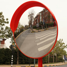 New style outdoor polycarbonate convex mirror for road/parking lots