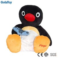 Gotatoy custom plush pingu soft toy