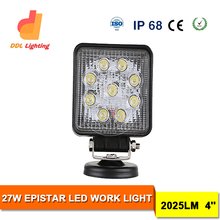 Off road Epistar LED driving light 4 inch top quality with 1 years warranty LED auxiliary driving lights motorcycle led driving