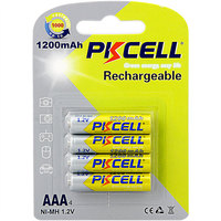 1000 times cycle life AAA 1.2V NI-MH 1200mAh rechargeable batteries for toys mp3
