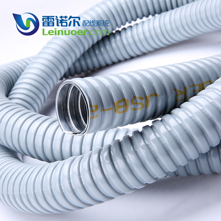 Leinuoer flame retardant FV-0 conduit PVC coated 304 stainless steel pipe for USA market