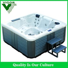 Factory HOT!! Europe style Acrylic Bubble freestanding bath tub