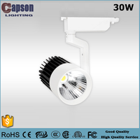 CE new design product modern 30W cob led track light with China spot light
