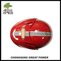 High Quality Red Open Face Helmet