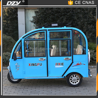 three wheel tricycle electric motorcycle taxi made in China