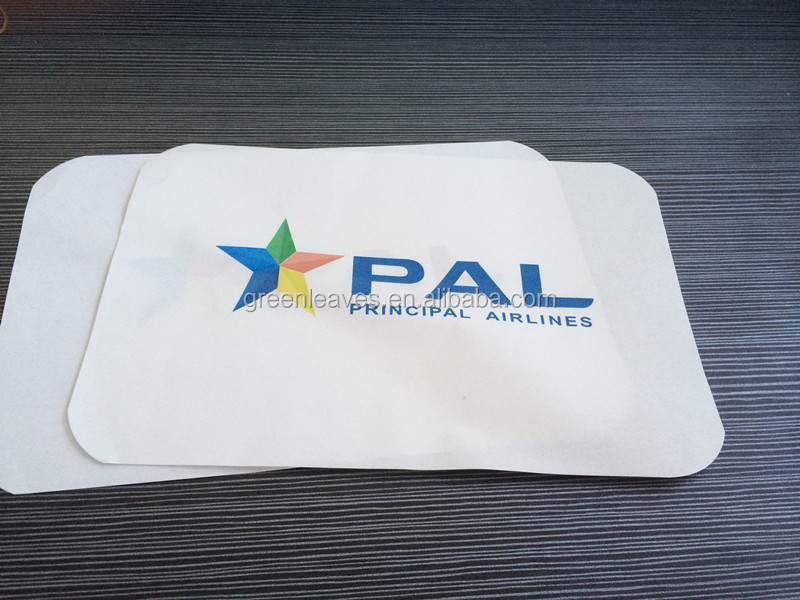 non-slip paper tray mat/liners(Airline,cartering,hotel)