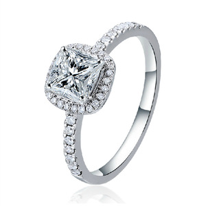 925 Silver cz stone diamond Rings