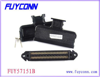 2.16mm Pitch Tyco 229974 -1 50 way RJ21 Champ IDC connector Male Plug Type with 180 Degree Cover