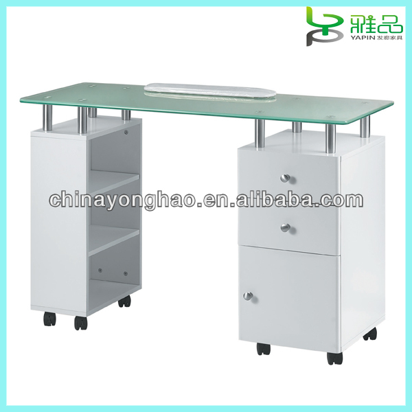 nail salon manicure table
