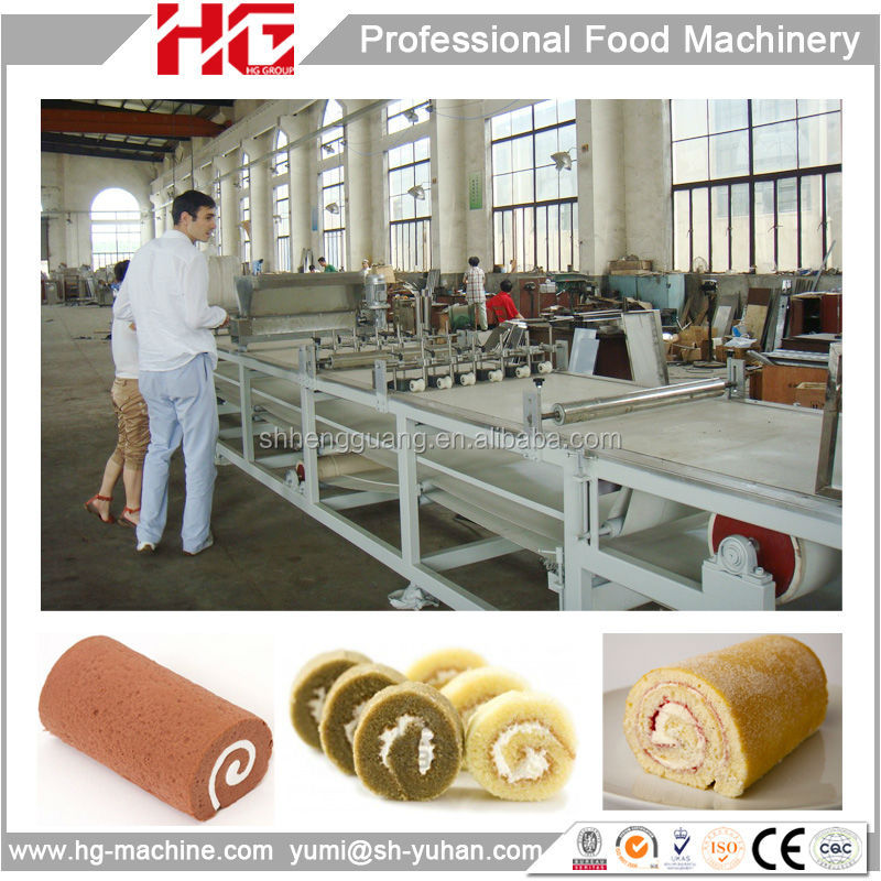 automatic layer cake plant/layer cake machine/layer cake production line