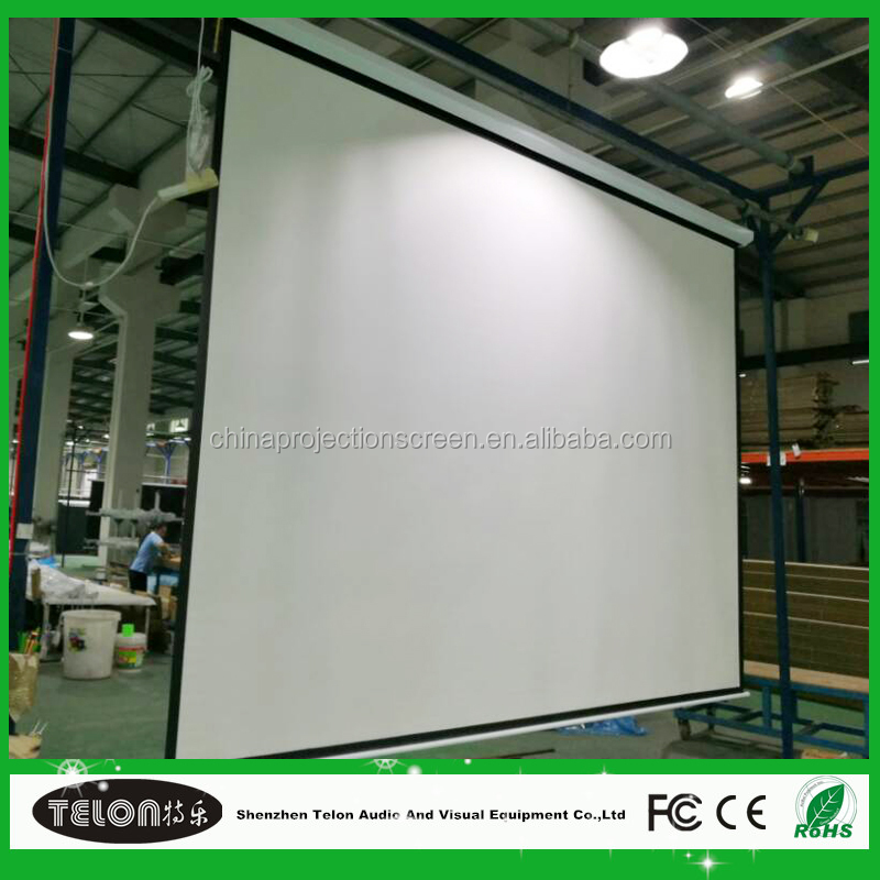 high quality rear projection video projector screen with high gain