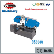 horizontal bandsaw machine for sale from factory BS3840