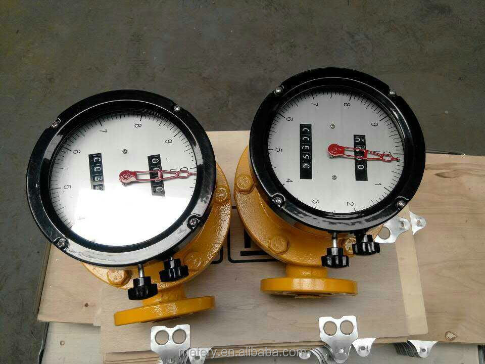 Oval gear aromatic oil accuracy 0.5% flow meter