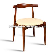 Modern wood furniture wooden long bench chair for restaurant