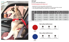 car safety belt harness for pets and dogs