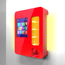 New design best selling wall mounted mini snack vending machine with ce certificate